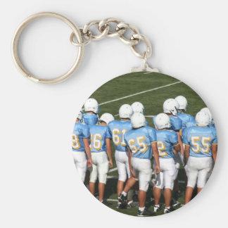 Football players keychain