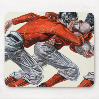 Football Players Mouse Pad