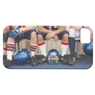 Football Players on Bench 2 iPhone SE/5/5s Case