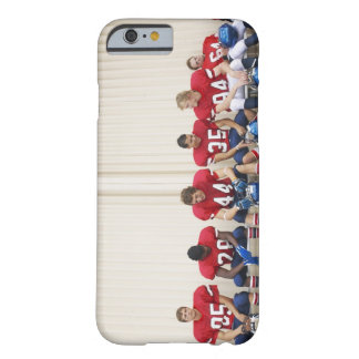Football Players on Bench Barely There iPhone 6 Case