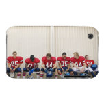 Football Players on Bench Case-Mate iPhone 3 Case