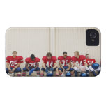 Football Players on Bench iPhone 4 Case-Mate Case