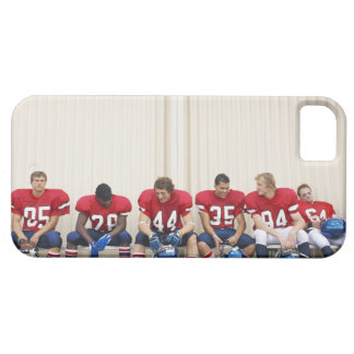 Football Players on Bench iPhone SE/5/5s Case