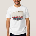 Football Players on Bench T-Shirt
