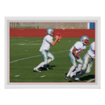 Football players poster