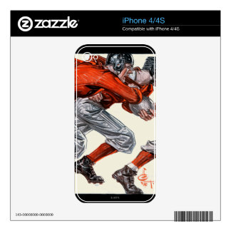 Football Players Skins For The iPhone 4