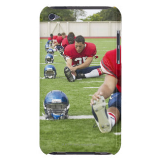 Football Players Stretching Barely There iPod Cover