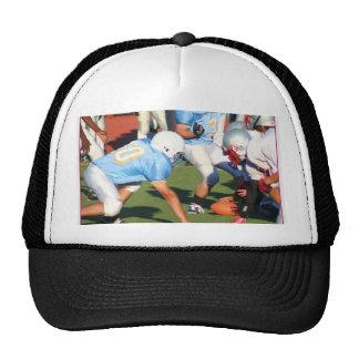 Football players trucker hat