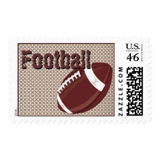 Football Postage stamp