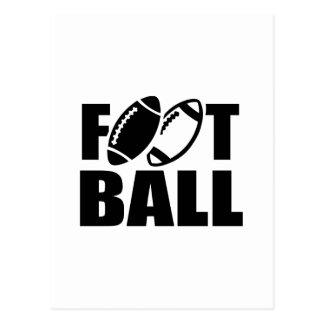 Football Postcard