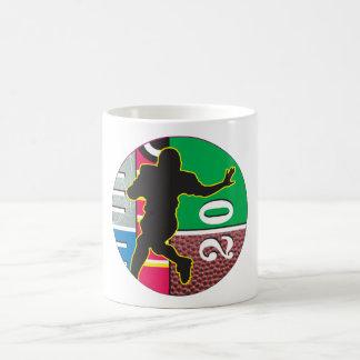Football Power Running Design Coffee Mug