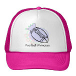 Football Princess T-shirts and Gifts Mesh Hat