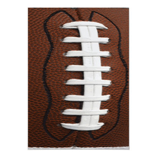 Football Print Pattern Background Magnetic Card