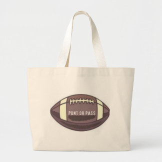 FOOTBALL - PUNT OR PASS GRAPHIC PRINT BAG