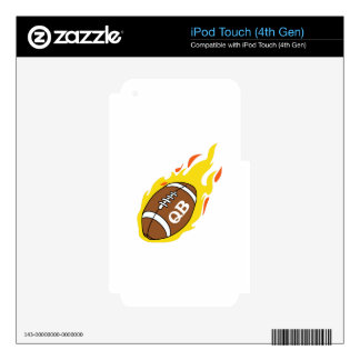 FOOTBALL QUARTERBACK SKIN FOR iPod TOUCH 4G