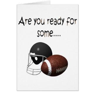 football.ready card