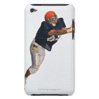 Football receiver catching ball 2 barely there iPod cases