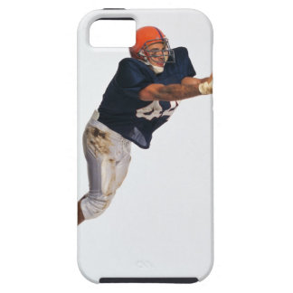Football receiver catching ball 2 iPhone SE/5/5s case