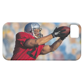 Football receiver catching ball iPhone SE/5/5s case