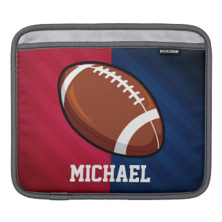 Football; Red, White, and Blue iPad Sleeve