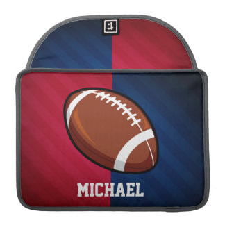Football; Red, White, and Blue Sleeve For MacBooks