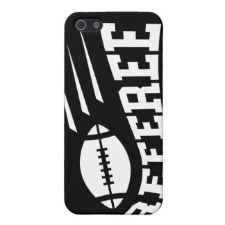 Football referee white on black with bouncing ball cover for iPhone SE/5/5s