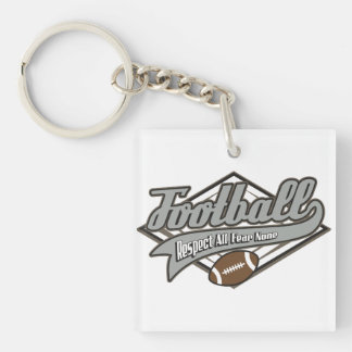 Football Respect Keychain