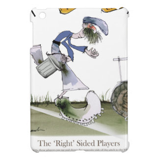 football right wing blue kit iPad mini case