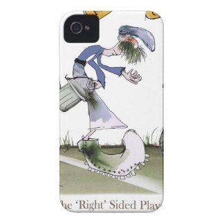 football right wing blue kit iPhone 4 cover