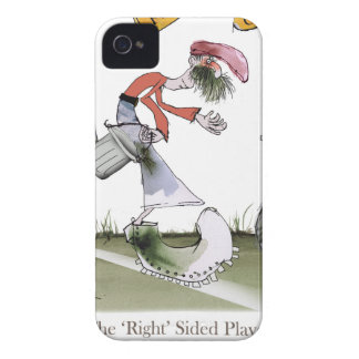 football right wing red kit iPhone 4 case