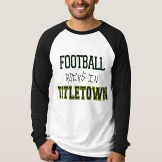 Football Rocks in Titletown1 Tshirts