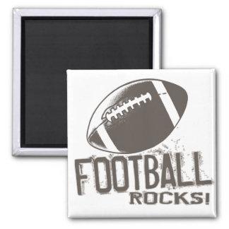 Football Rocks Fridge Magnet