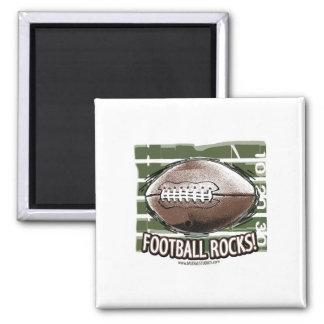 Football Rocks! Magnet
