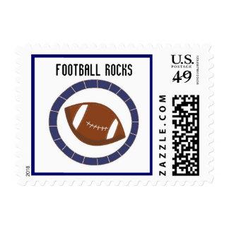 Football Rocks Stamps