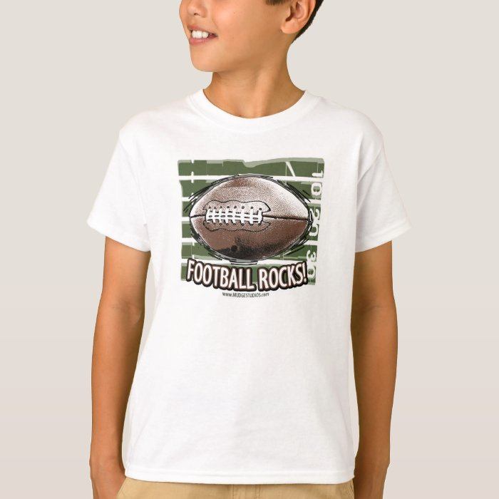 Football Rocks! T-Shirt