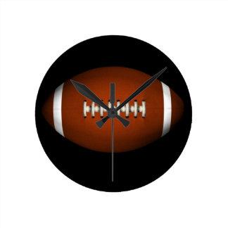Football Round Clock