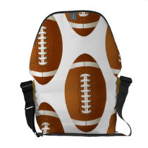 football rugby  sports courier bag