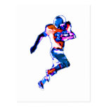 Football Runner Transp The MUSEUM Zazzle Gifts Post Card