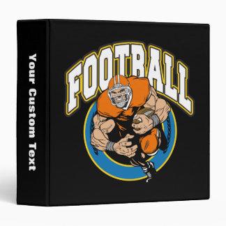 Football Running Back Vinyl Binders