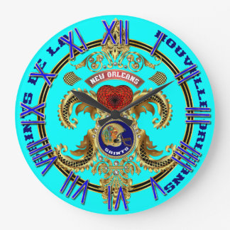 Football Saints Special Edition Read About Design Large Clock