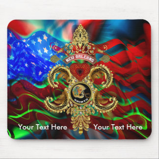 Football Saints Special Edition Read About Design Mouse Pad