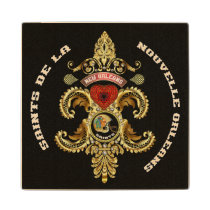 Football Saints Special Edition Read About Design Wooden Coaster