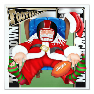 Football Santa - SRF Card