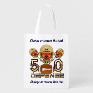 Football SB 50 Reusable Grocery Bag
