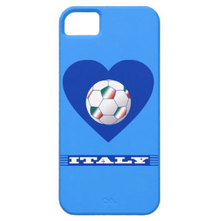 FOOTBALL Scarf ITALY and ball soccer in heart iPhone SE/5/5s Case