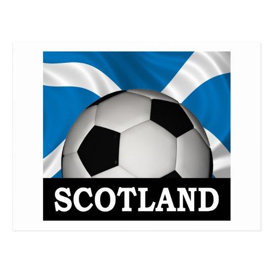 Football Scotland Postcard