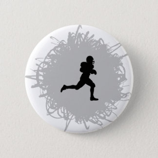 Football Scribble Style Button