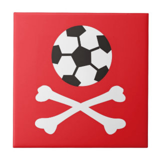 Football scull ceramic tiles