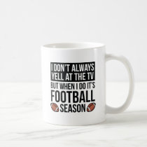Football Season Coffee Mug