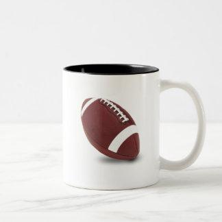 football season Two-Tone coffee mug
